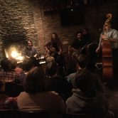 Gypsy Jazz Lads at LIC Bar Fireplace Concert